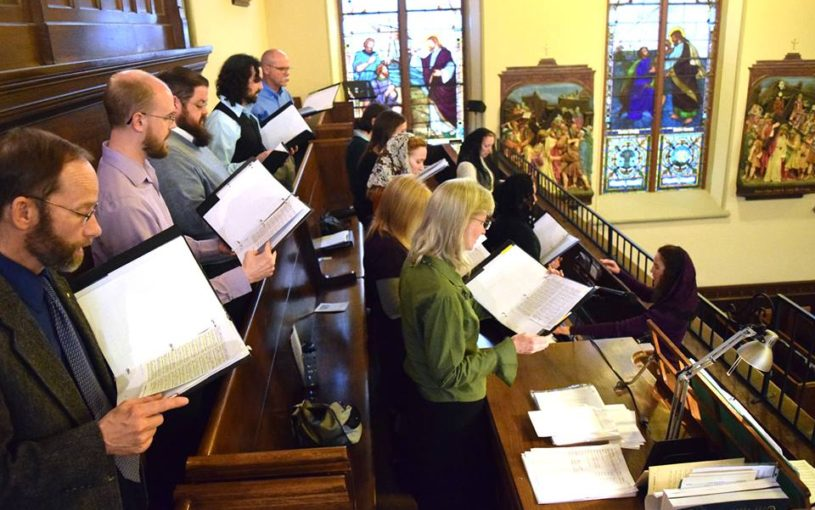 You'll experience the beauty of sacred polyphony